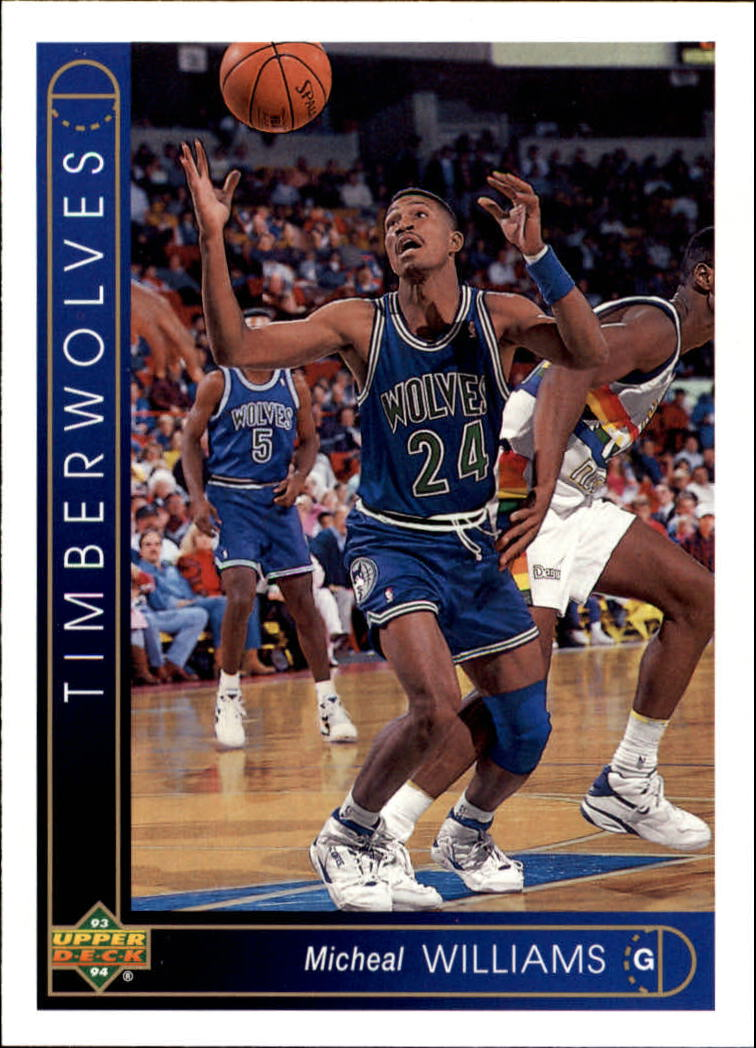 1993-94 Upper Deck #268 Micheal Williams