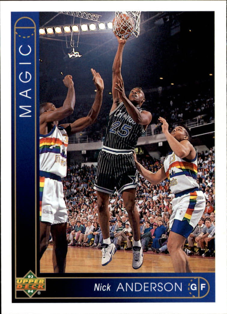 1993-94 Upper Deck #269 Nick Anderson