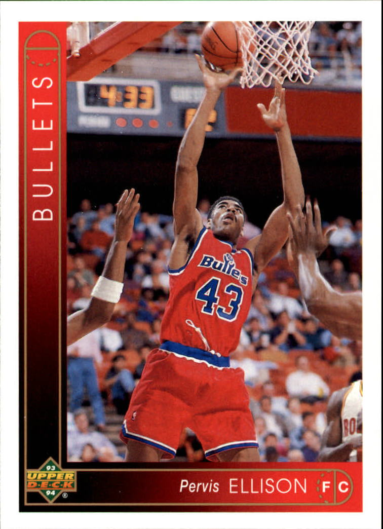 1993-94 Upper Deck #285 Pervis Ellison
