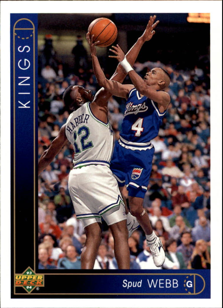 1993-94 Upper Deck #286 Spud Webb