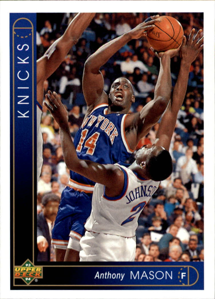 1993-94 Upper Deck #297 Anthony Mason