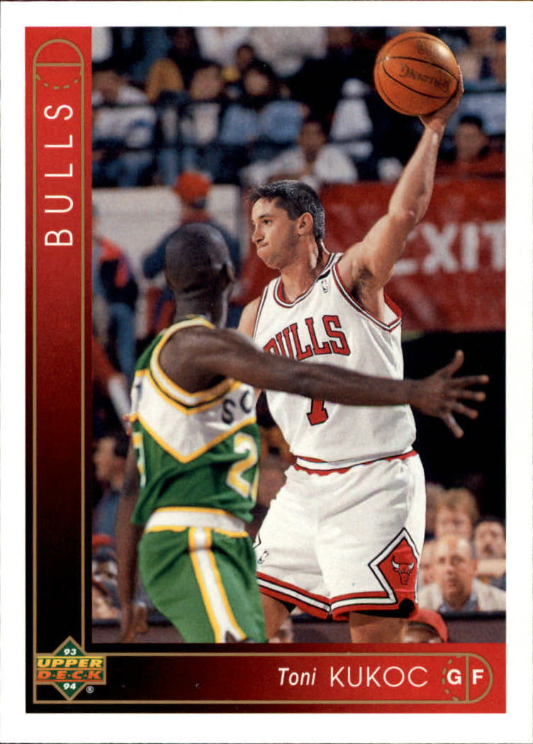 1993-94 Upper Deck #299 Toni Kukoc RC