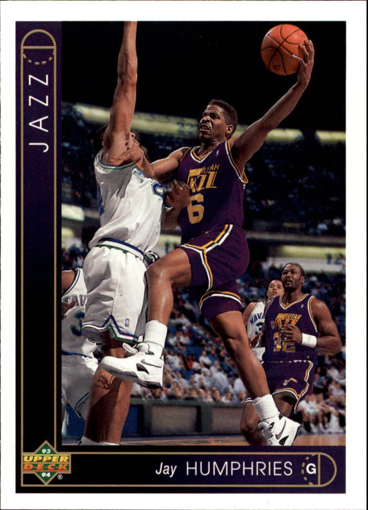 1993-94 Upper Deck #301 Jay Humphries
