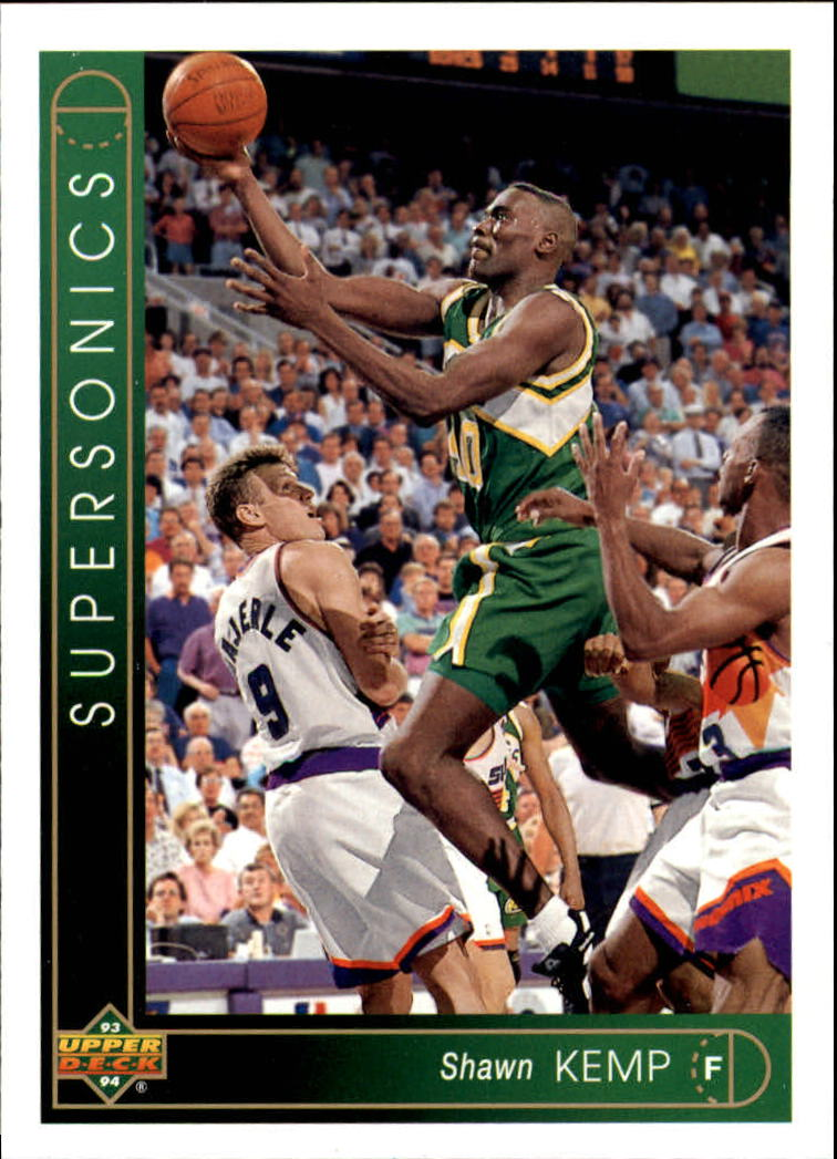 1993-94 Upper Deck #305 Shawn Kemp