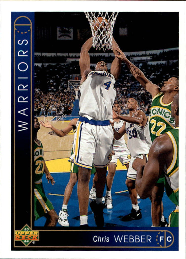 1993-94 Upper Deck #311 Chris Webber RC