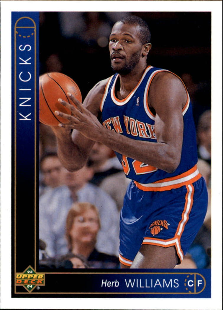 1993-94 Upper Deck #315 Herb Williams