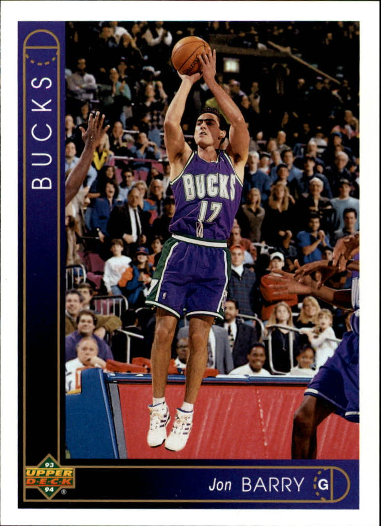 1993-94 Upper Deck #319 Jon Barry