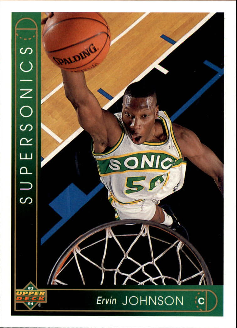 1993-94 Upper Deck #321 Ervin Johnson RC