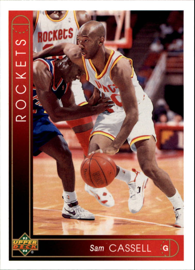 1993-94 Upper Deck #322 Sam Cassell