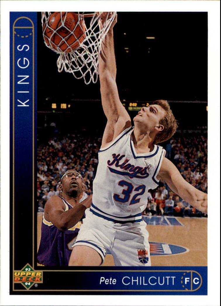 1993-94 Upper Deck #325 Pete Chilcutt