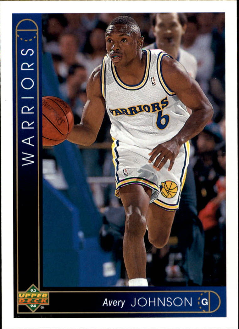 1993-94 Upper Deck #328 Avery Johnson