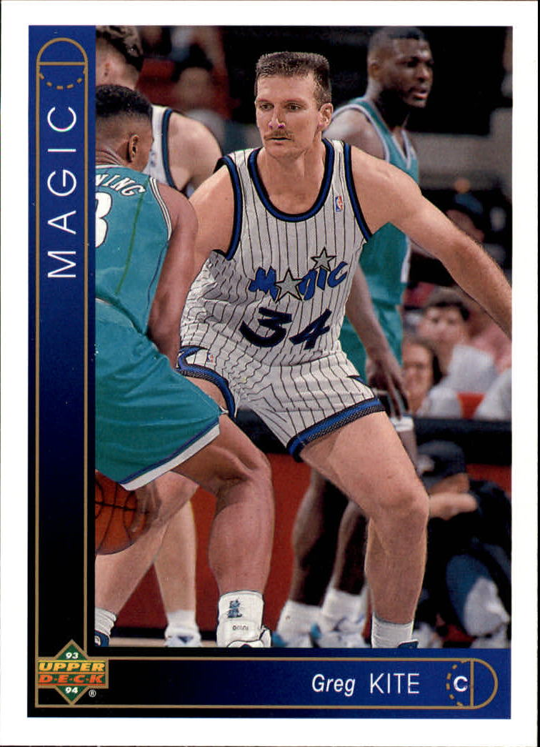 1993-94 Upper Deck #331 Greg Kite