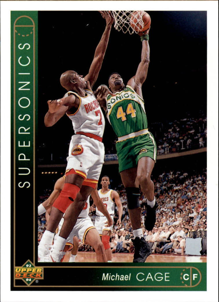 1993-94 Upper Deck #332 Michael Cage