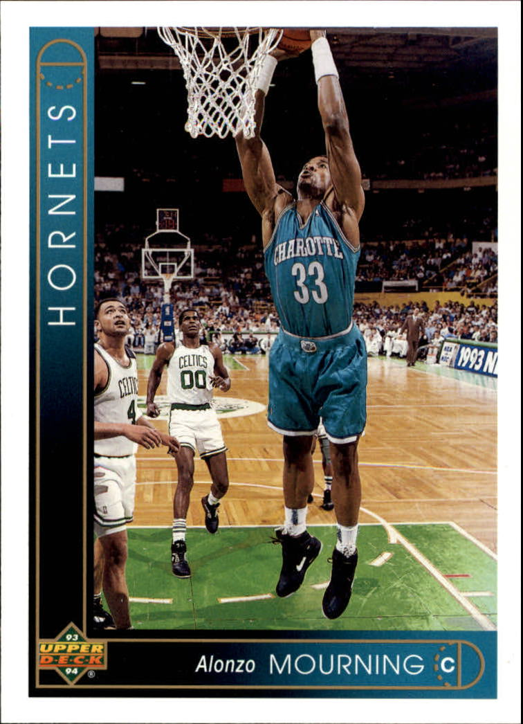1993-94 Upper Deck #333 Alonzo Mourning