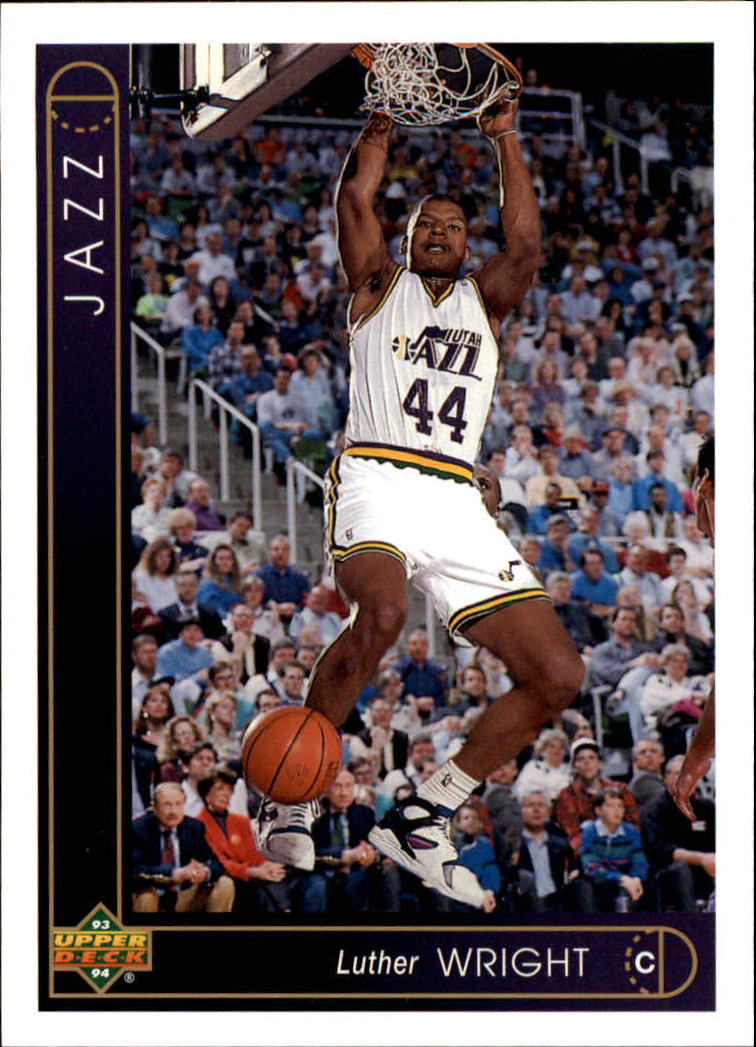 1993-94 Upper Deck #339 Luther Wright