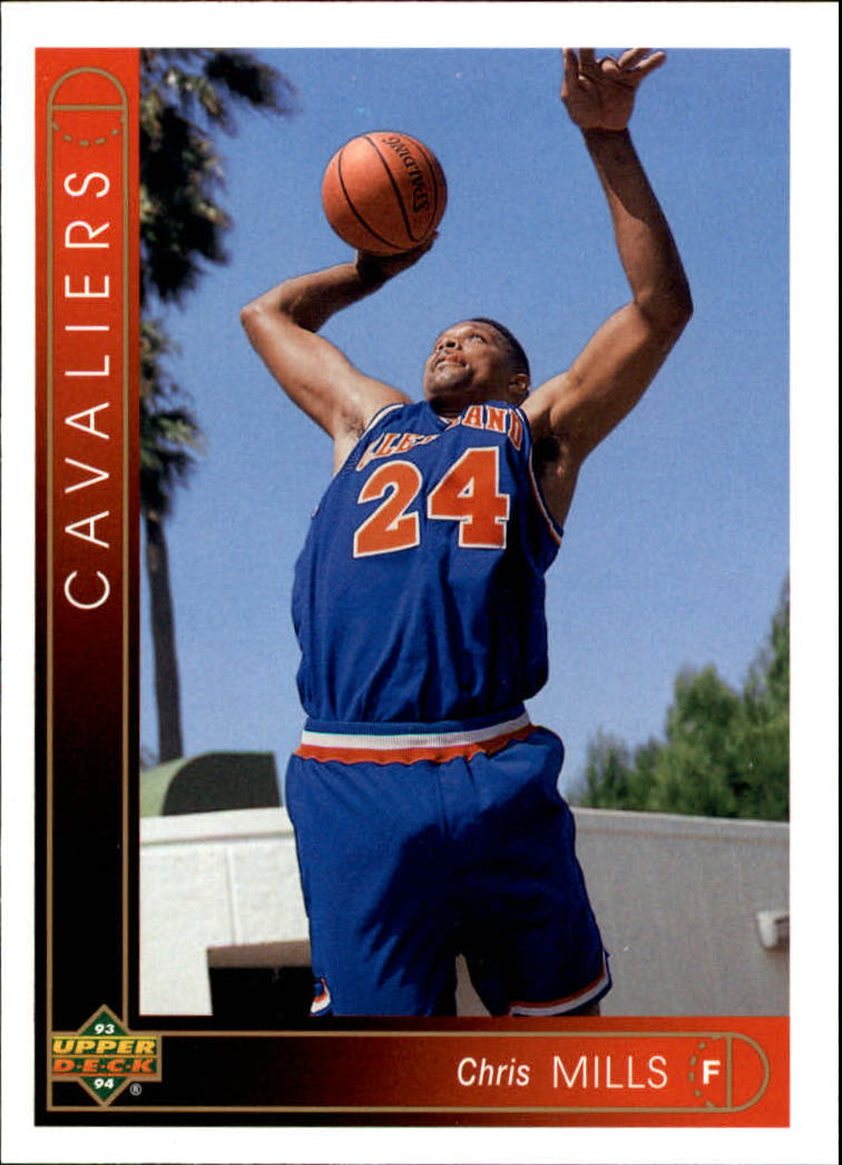 1993-94 Upper Deck #343 Chris Mills