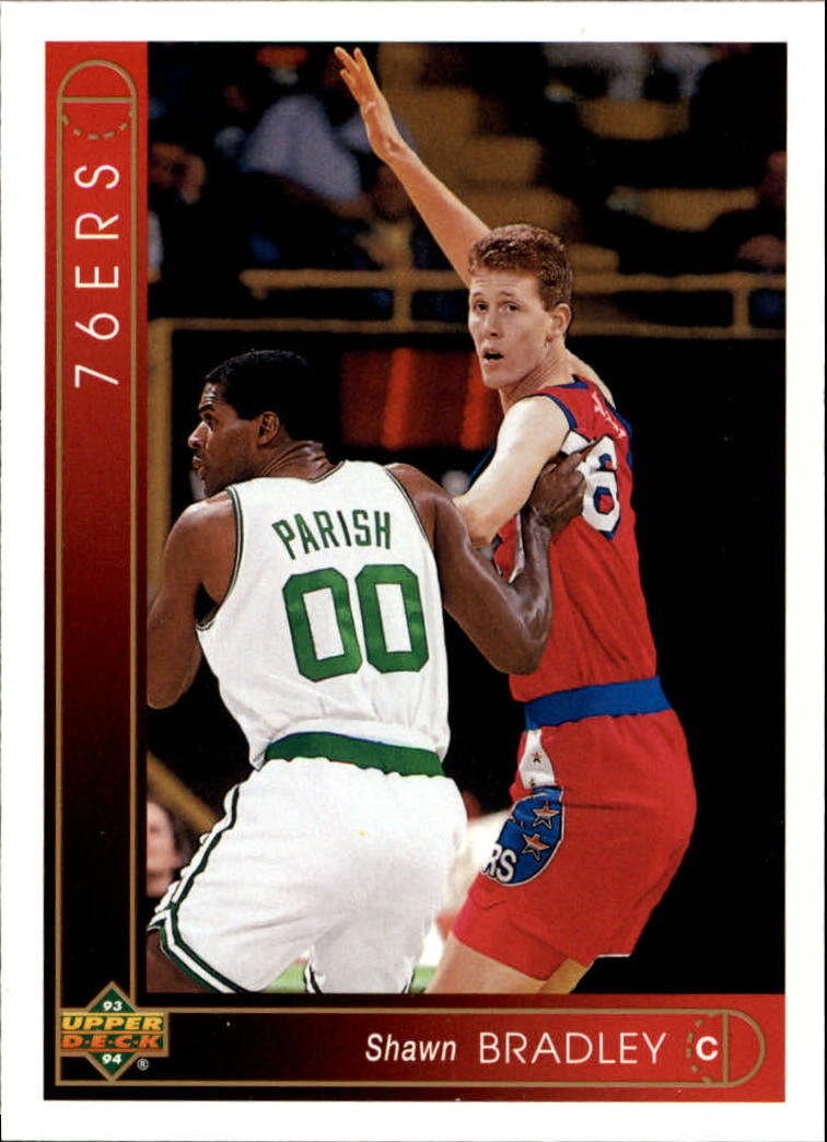 1993-94 Upper Deck #345 Shawn Bradley