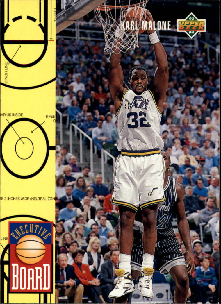 1993-94 Upper Deck #422 Karl Malone EB