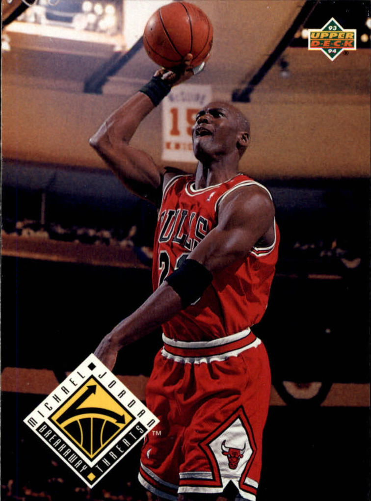 1993-94 Upper Deck #438 Michael Jordan BT