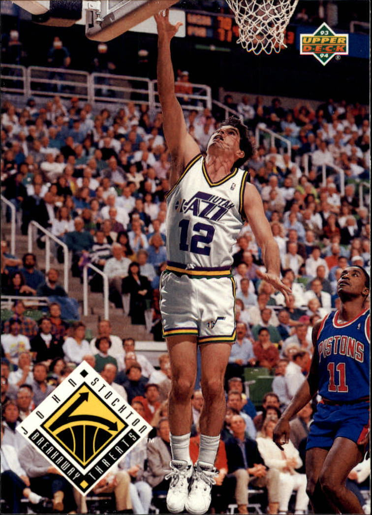 1993-94 Upper Deck #445 John Stockton BT