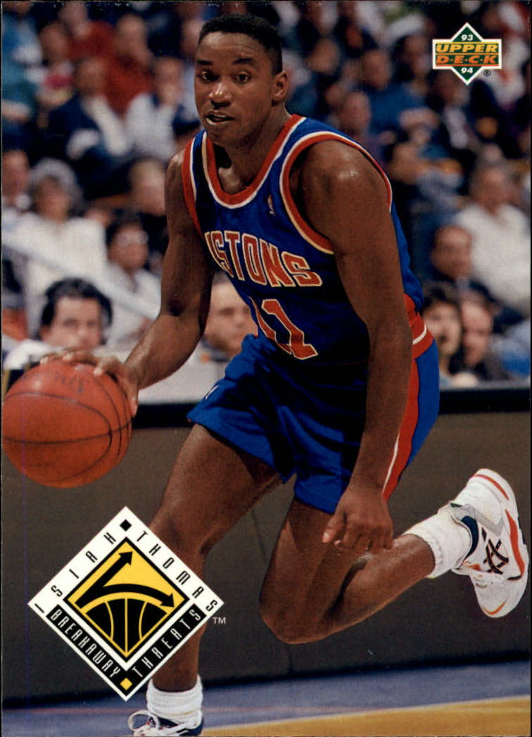1993-94 Upper Deck #450 Isiah Thomas BT