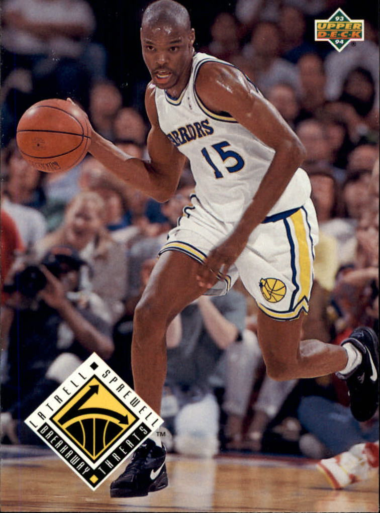 1993-94 Upper Deck #452 Latrell Sprewell BT
