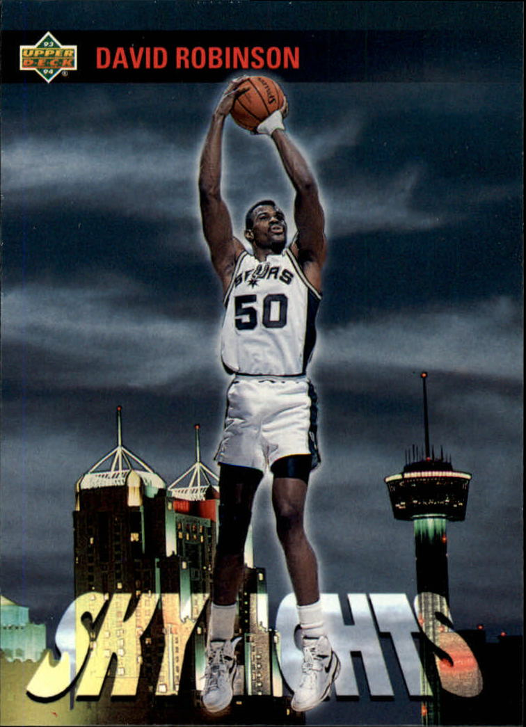 1993-94 Upper Deck #474 David Robinson SKL