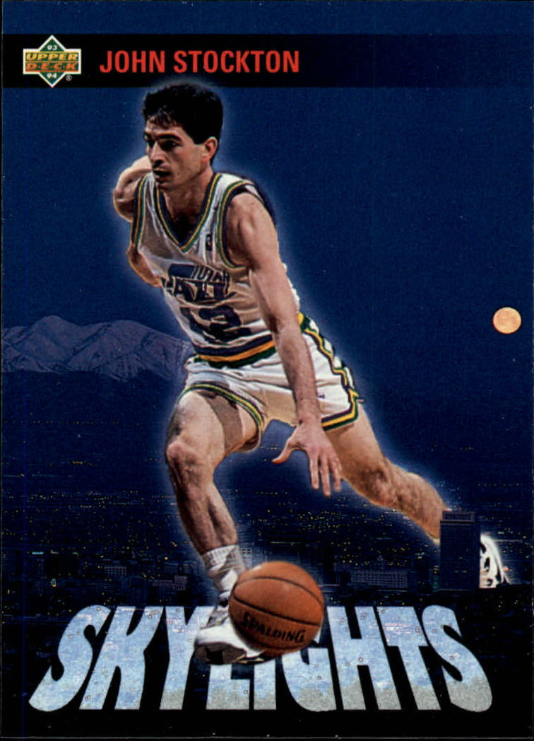 1993-94 Upper Deck #478 John Stockton SKL