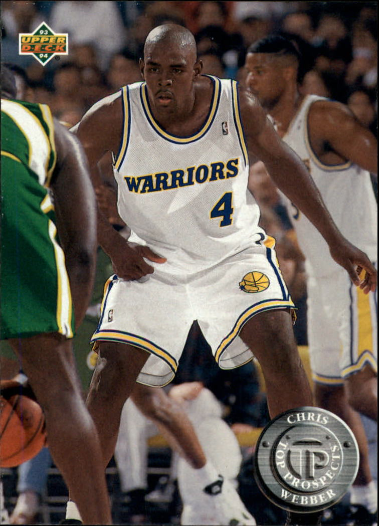1993-94 Upper Deck #483 Chris Webber TP front image