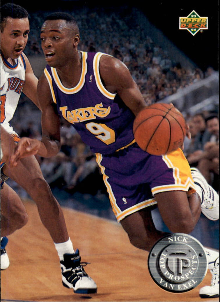 1993-94 Upper Deck #497 Nick Van Exel TP