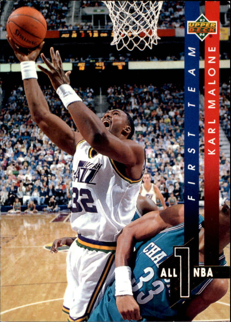 1993-94 Upper Deck All-NBA #AN2 Karl Malone