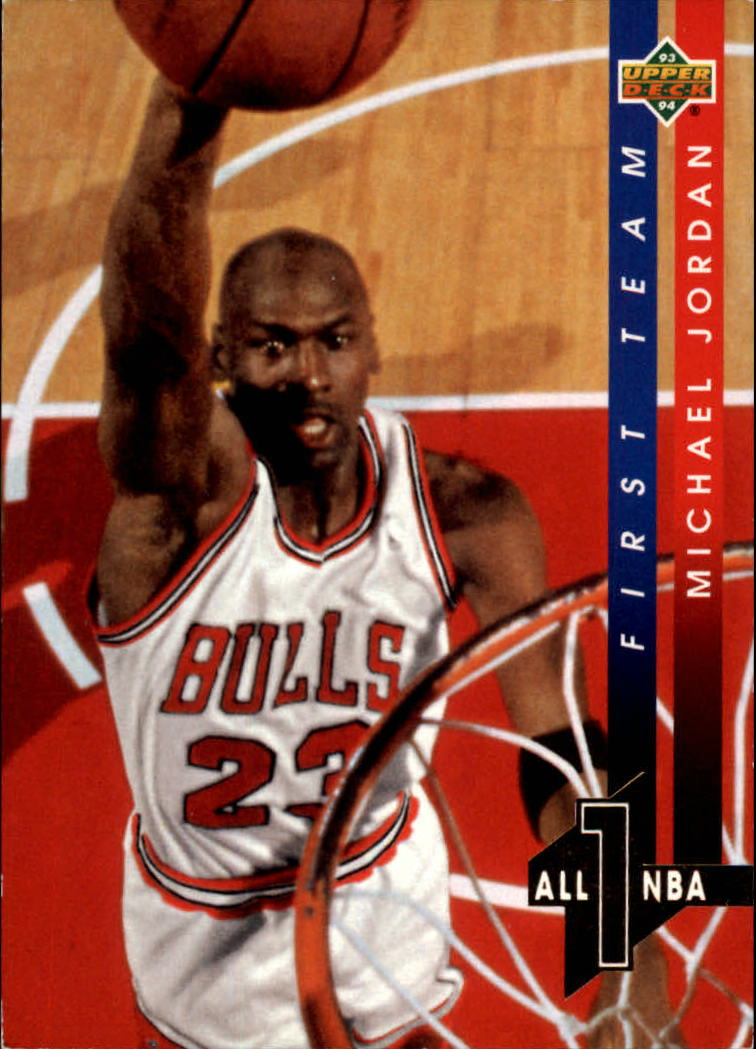 1993-94 Upper Deck All-NBA #AN4 Michael Jordan