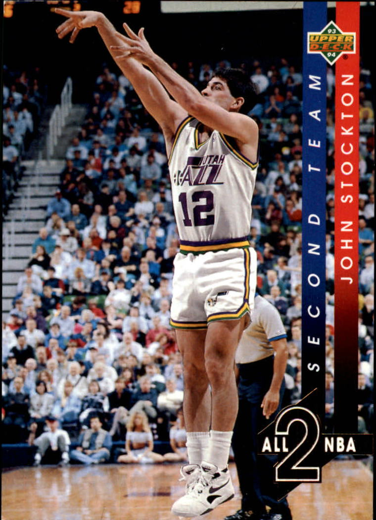 1993-94 Upper Deck All-NBA #AN9 John Stockton