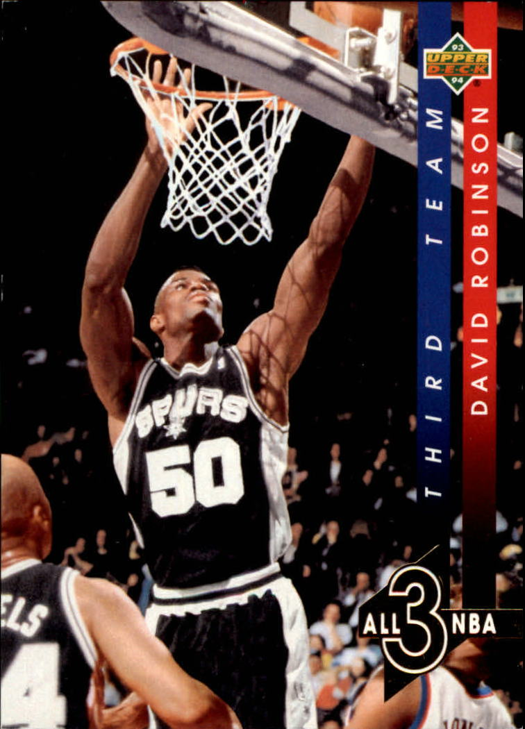 1993-94 Upper Deck All-NBA #AN13 David Robinson