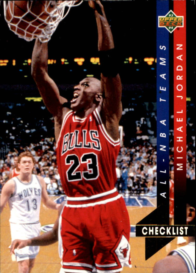 1993-94 Upper Deck All-NBA #AN15 Michael Jordan CL