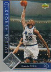 1993-94 Upper Deck Future Heroes #35 Shaquille O'Neal