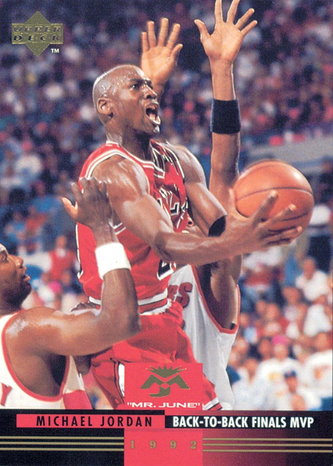 1993-94 Upper Deck Mr. June #MJ6 Michael Jordan