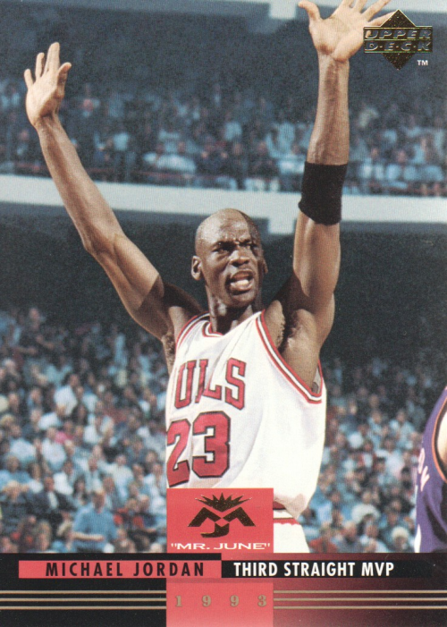 1993-94 Upper Deck Mr. June #MJ9 Michael Jordan