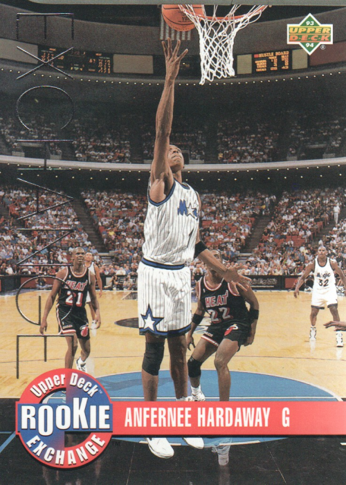 1993-94 Upper Deck Rookie Exchange #RE3 Anfernee Hardaway