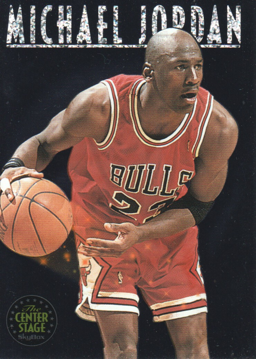 1993-94 SkyBox Premium Center Stage #CS1 Michael Jordan