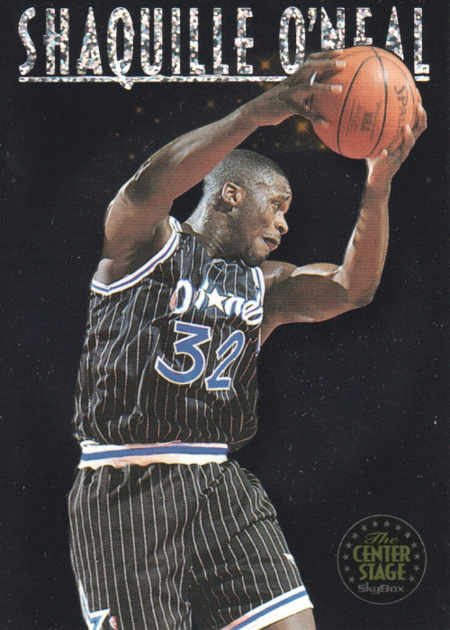 1993-94 SkyBox Premium Center Stage #CS2 Shaquille O'Neal