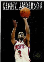 1993-94 SkyBox Premium Center Stage #CS7 Kenny Anderson