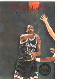 1993-94 SkyBox Premium Shaq Talk #7 Shaq Talk