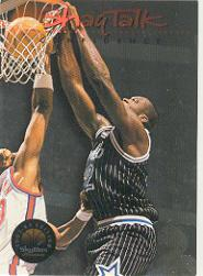 1993-94 SkyBox Premium Shaq Talk #9 Shaq Talk