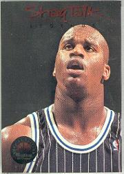 1993-94 SkyBox Premium Shaq Talk #10 Shaq Talk