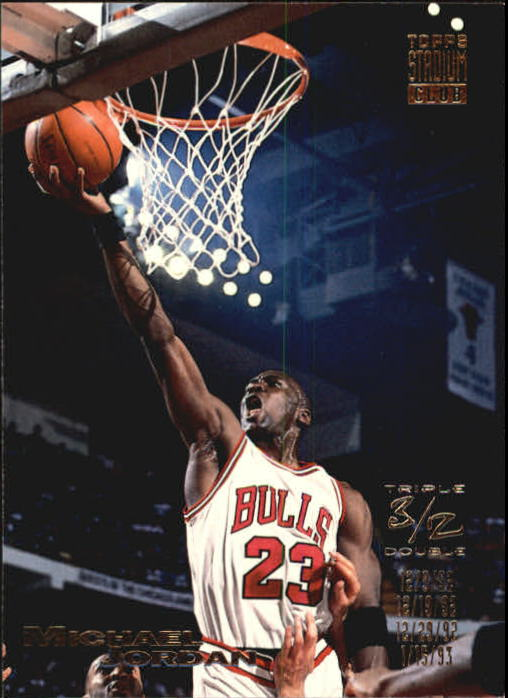 1993-94 Stadium Club #1 Michael Jordan TD