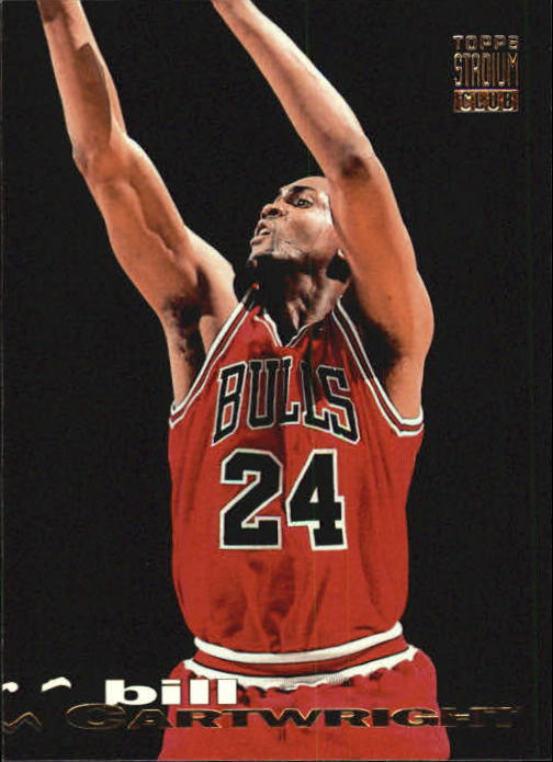 1993-94 Stadium Club #16 Bill Cartwright