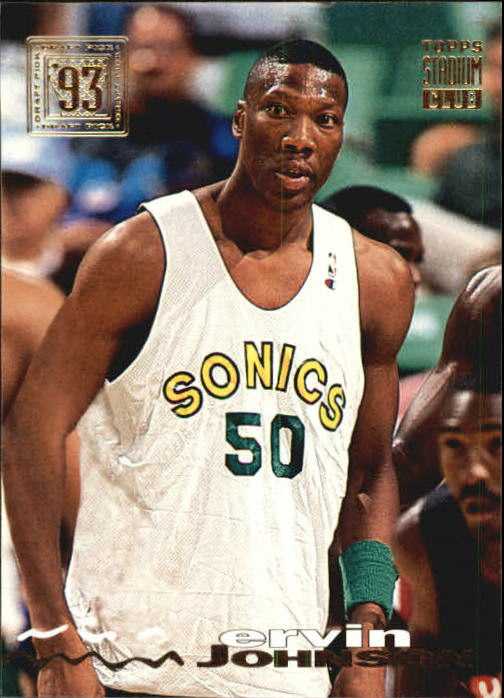 1993-94 Stadium Club #36 Ervin Johnson RC