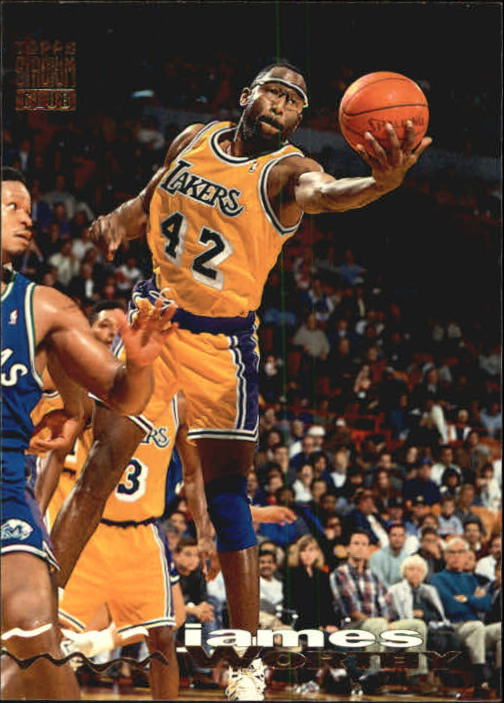 1993-94 Stadium Club #91 James Worthy