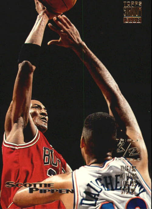 1993-94 Stadium Club #103 Scottie Pippen TD